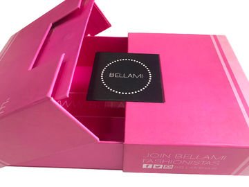 Premium Luxury Magnetic Hair Extension Packaging Box CE FSC Approval