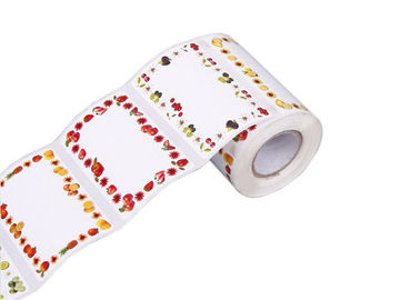 Colorful Self Adhesive Fabric Labels , Self Adhesive Name Labels