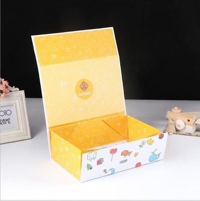 Foldable Recyclable Matt Lamination Cardboard Toy Box