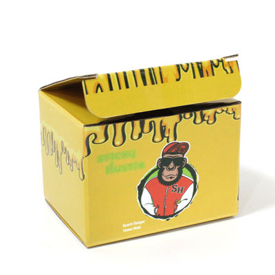 Custom Corrugated Boxes Printed logo cartoon pattern dessert biscuit corrugated small packaging box foldable
